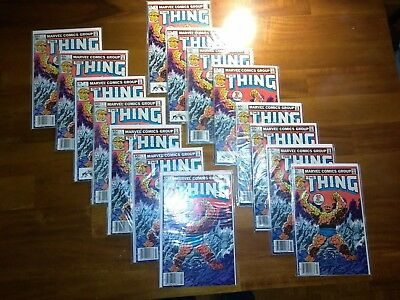 Thing #1 X 15...lot Of 15...all In Vf Or Better Condition...thing #1 X 15...1983