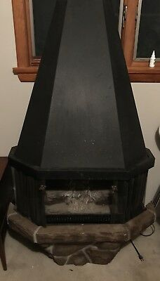 VINTAGE Freestanding Electric Fireplace