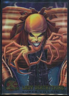 1995 X-Men Ultra All-Chromium Trading Card #67 Lady Deathstrike