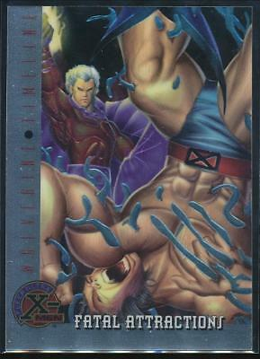 1995 X-Men Ultra All-Chromium Trading Card #86 Fatal Attractions