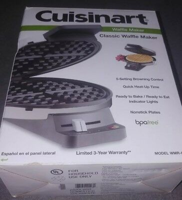 Cuisinart WMR-CA Round Classic Waffle Maker, NEW, FREE Shipping