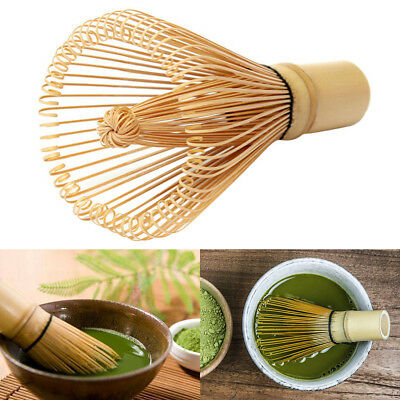 Useful Green Tea Powder Brush Whisk Matcha Bamboo Chasen Kitchen Tool AU Local