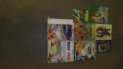 Asterix Books Plus Other Comics and Comedy Titles x 8