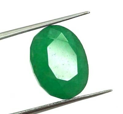 GGL Certified 5.70 Ct Natural Oval Cut Green Emerald Gemstone Hurry Now