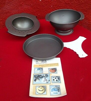 Heartland Contemporary Home Products Dome Cake Zuccotto Pan Bake Set Nonstick ✞