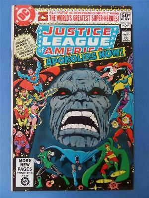 JUSTICE LEAGUE OF AMERICA 184 DARKSEID SAGA Movie Story HIGH GRADE!