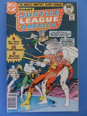 JUSTICE LEAGUE OF AMERICA 139 1977 Neal Adams Cover! GIANT!