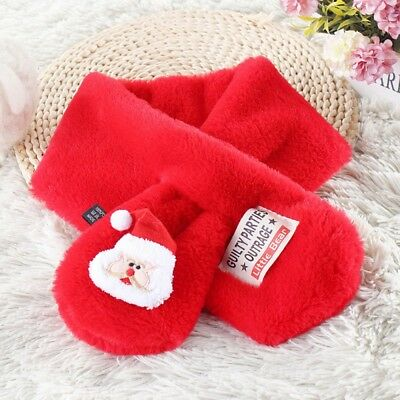 US Baby Kids Boys Girls Winter Christmas Warm Hooded Gloves Warmer Scarf Shawls