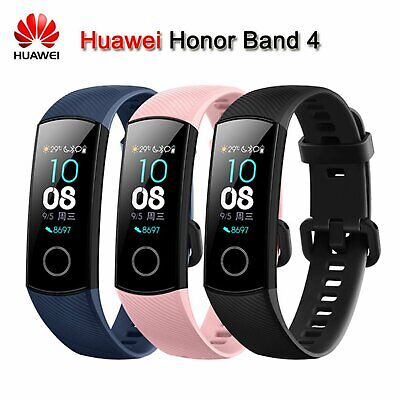 Original Huawei Honor Band 4 AMOLED 0.95'' Touchscreen Wasserdicht Smart Watch