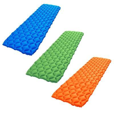 TPU Ultra Light Inflatable Camping Mattress Pad Sleeping Hiking Picnic Bed Mat