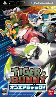 USED PSP TIGER & BUNNY aired Jack!