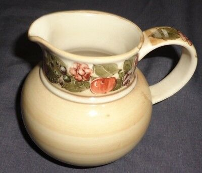 JERSEY POTTERY C.I. JUG floral detail on handle and top
