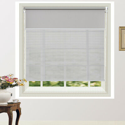 Commercial Quality Day/Night Double Roller Blind Dual Roller Blind 5 Colors