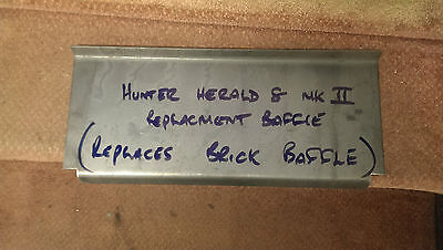 Hunter Herald 8 Baffle plate Mark II (replaces the vermiculite baffle plate)