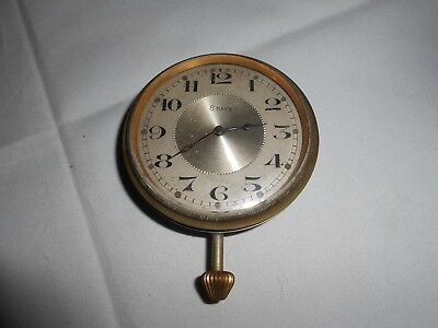 Art Deco Travel Watch Movement 8 Day Swiss Made Dial 5.6 Cm's For Spares  Repair