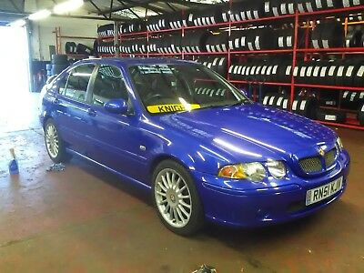 2001 MG ZS 1.8 120BHP Manual Petrol 5 Door Trophy Blue 3 DAY AUCTION