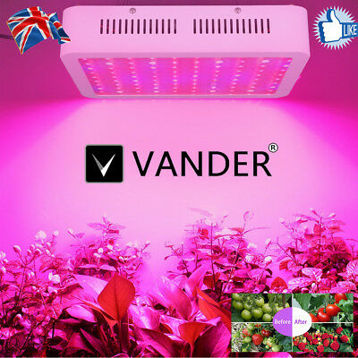 2000W  Plant Grow Light VANDER Full Spectrum Hydro Veg Indoor IR UV Medical Lamp