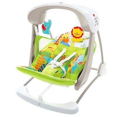 Fisher Price Take-along Swing & Seat - Rainforest Friends