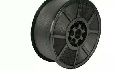 """* 1000 M 12 MM Black Polypropylene Strapping Banding Strong Plastic Core 12""""4"""