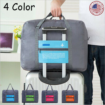 Luggage Storage Bag Travel Duffel Carry-on Waterproof Tote Bag Foldable US Stock