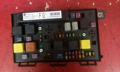 vauxhall astra h mk5 front bcm electric control uec fuse box fg 2004-2010