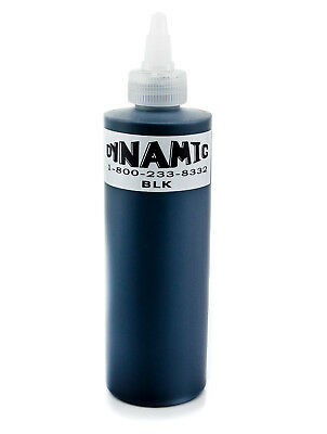 DYNAMIC Tinte Tattoofarbe 240ml 8oz Tribal Black Künstlerfarbe Tätowierfarbe Ink