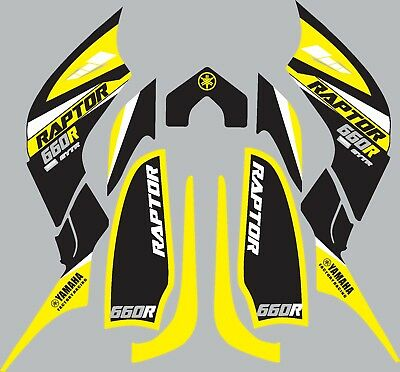 Graphics for Yamaha Raptor 660 660R ATV  decals stickers