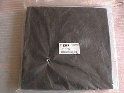 VELO SPORT PERFORMANCE PRODUCTS AIR FILTER FOAM SHEET 12'' x 12'' x 2cm NEW