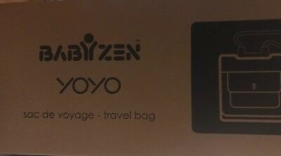 babyzen YOYO + Travel Bag in black