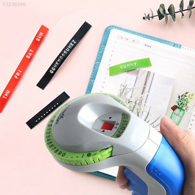 16F8 Label Printing 3D Embossing Label Maker Labeling Machine Practical ABS