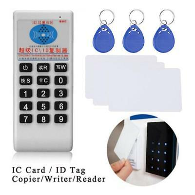 New 1356MHz IC Card  ID Tag ier Writer Reader Duplicator English Voice for Card