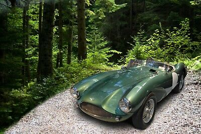 Aston Martin DB3s Rolling chassis with all correct trailing link suspension ++