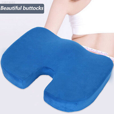 B373 Office Chair Memory Foam Coccyx Orthoped Seat Pad Support Lumbar Cushion Ho