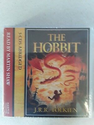 'The Hobbit' 5 CD Audio Book Read By Martin Shaw