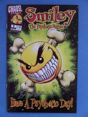 Smiley The Psychotic Button 1 Chaos Comics!