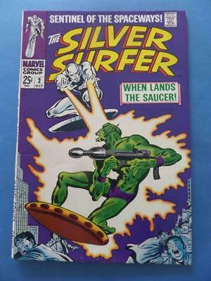 Silver Surfer 2 1969 Supple & Glossy! High Grade!
