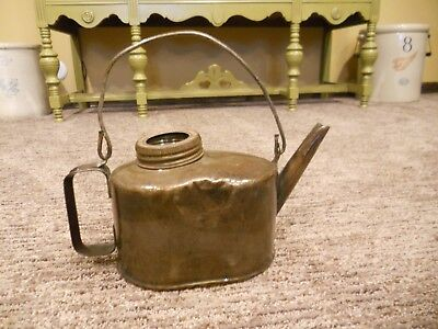 Vintage Eagle Oil Can with Handle
