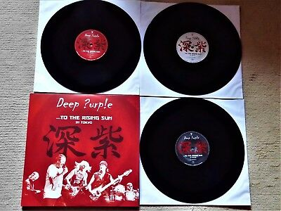 3 Lp-Set  Deep Purple  To The Rising Sun In Tokyo 2015  Mint-  Top !