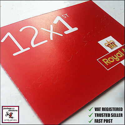 12 x 1st CLASS Stamps NEW Royal Mail Postage Stamp First Book Sheet UK FAST POST