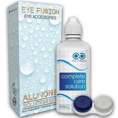 Contact Lens Solution with Lens Case 60ml