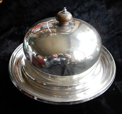 Antique Electro Plated Silver Plate Muffin Dish
