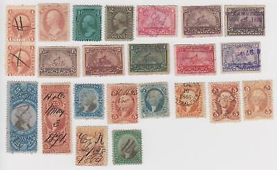 US R4 Pair, O92 Mint and Other Back of the Book Stamps