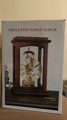 Brand new, unopened mantle/table clock