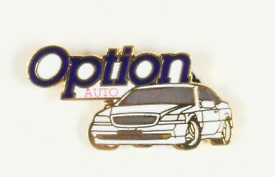 Pin's  Voiture blanche, Option Auto