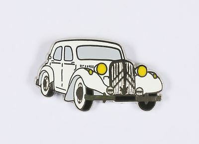 Pin's  Citroën Traction blanche