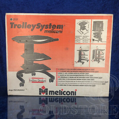 ►Meliconi◄Tv Trolley System Carrello Tv Con Sistema Nascondi Fili
