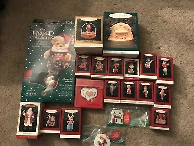Lot of 20~ Christmas Hallmark Keepsake Ornaments ~  Great Mix! rare nice Lot #7
