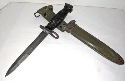 Imperial M7 Bayonet / Hunting Knife and US M8Al Scabard    USGI
