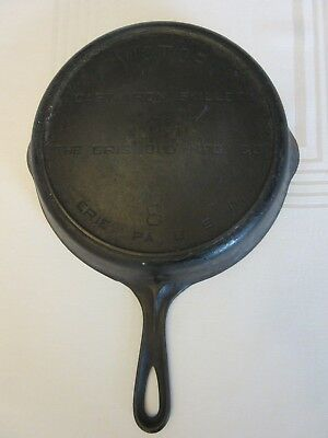 Victor Griswold No. 8 Cast Iron Skillet Fry Pan