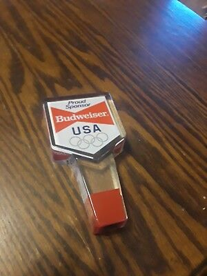 Budweiser Tap Handle Olympic
